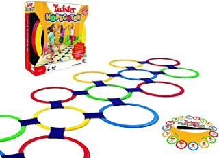 FunBlast Twister Hopscotch Active Indoor Play with Rings Game for Kids, Educational Colorful Rings Game for Kids