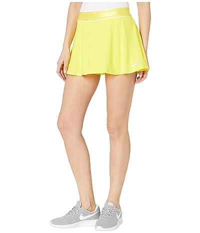 Nike Court Dry Skirt Flouncy (Opti Yellow/White/White) Women