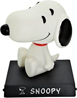 Snoopy PVC Bobble Head Figure Car Dashboard Office Home Accessories Ultra Detail Doll (Snoopy)