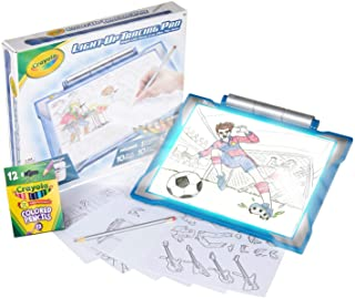 Crayola Light Up Tracing Pad Blue, Amazon Exclusive, Toys, Gift for Boys & Girls, Ages 6+