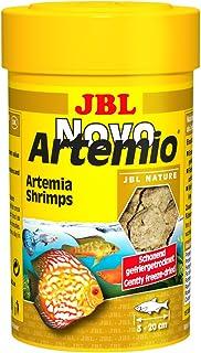 JBL Complemento alimenticio NovoArtemio, para Todos los Peces de acuarios, Compuesto de cangrejos de Artemia liofilizada