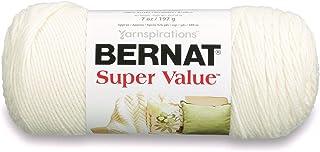 Bernat Super Value Yarn, 5 oz, Natural, 1 Ball
