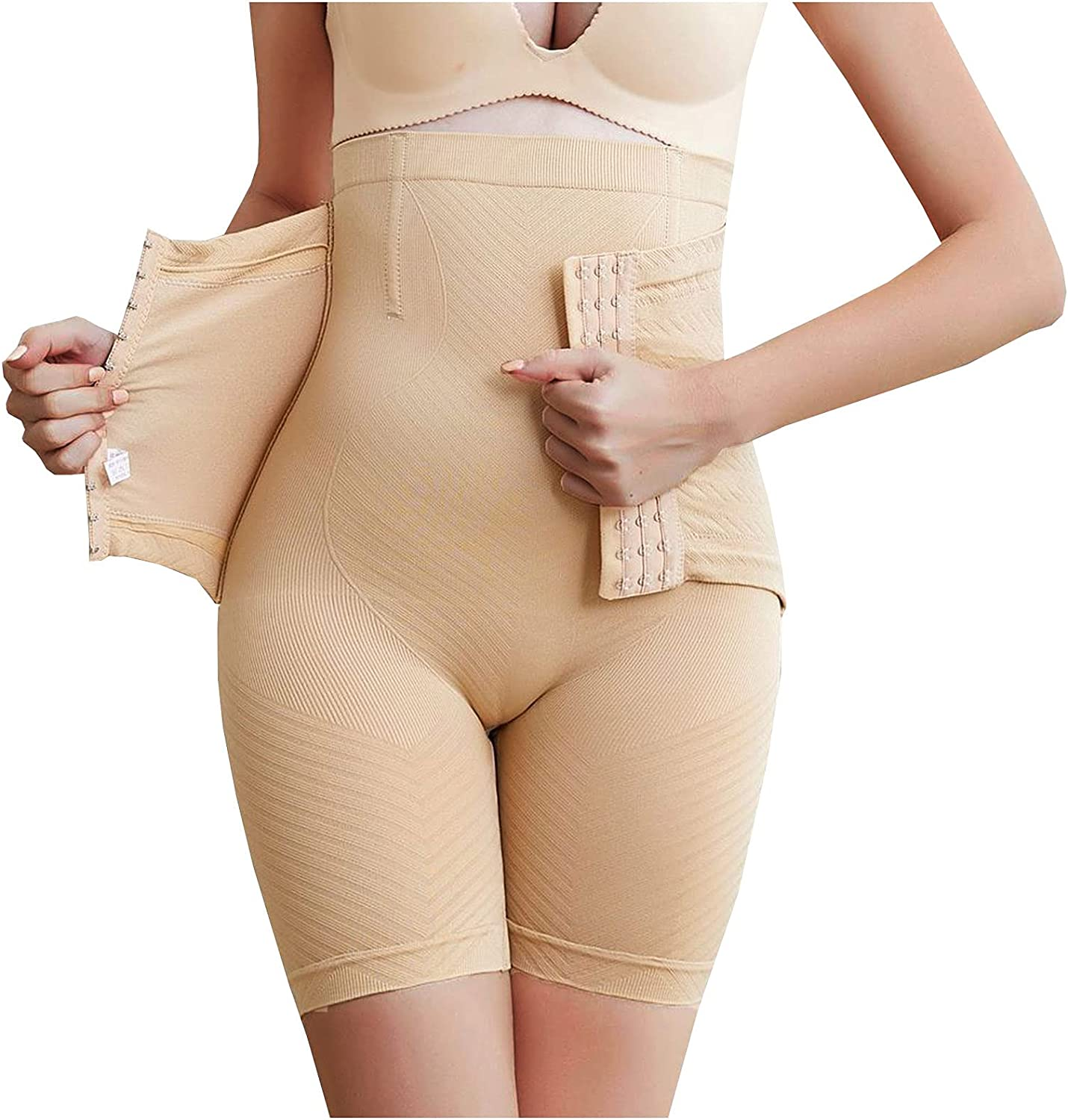 Exposed Buttock Hip Lifting Shapewear for Women Tummy Control, Women's Sexy Butt Lifter Pants Body Shaper Seamless Panties