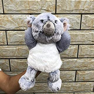 N/C Soft Toy 30cm Hand Puppets Super Cute Small Koala Bear Plush Toys Adventure Koala Doll Birthday