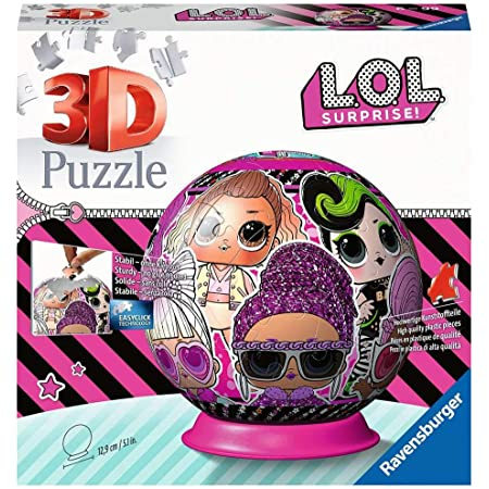 Ravensburger - Puzzle 3D Ball 72 p - LOL Surprise - 11162