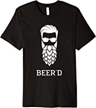 Beer'd Hop Beard for Beer Drinkers Tee
