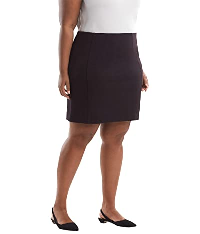 M.M.LaFleur Plus Size Crosby Skirt Textured Ponte (Lava) Women