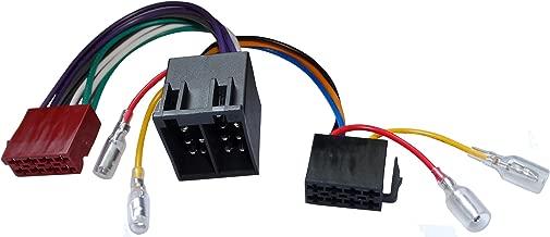 AERZETIX: Extension 20cm Conector Enchufe ISO 13PIN 8+5 para autoradio precableado Universal Potencia+Sonido Altavoces recintos Macho Hembra C12066