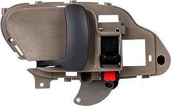 XYZMOT Interior Front/Rear Left Driver Side Beige Door Handle For 1995 1996 1997 1998 1999 2000 2001 2002 Chevrolet GMC C1500 C2500 C3500 K1500 K2500 K3500 Pickup Suburban Chevy Tahoe 15708051,77570