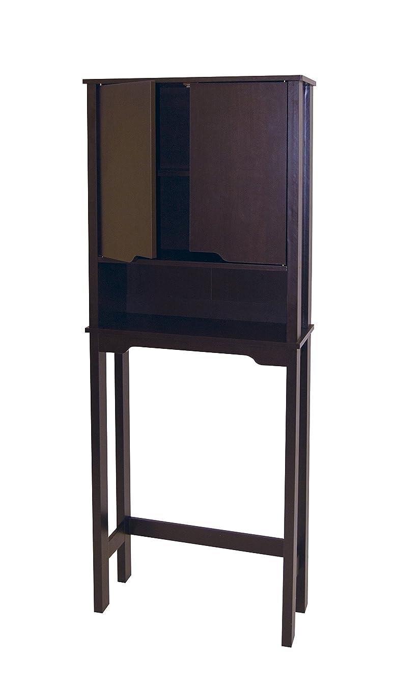 Neu Home 16151W1P Bathroom Spacesaver, 25.875 x 10.5 x 67, Espresso
