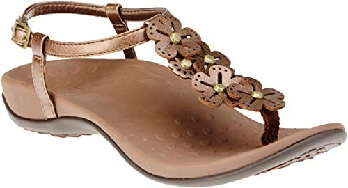 Vionic with with Orthaheel Technology femmes Julie II Sandal Bronze Taille 11  en ligne pas cher
