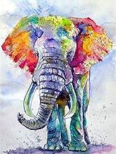 TIANZXS Doe-het-zelf 5D Diamond Painting Set 5D DIY Diamond schilderij olifant volledige boor dieren Diamond borduurwerk C...