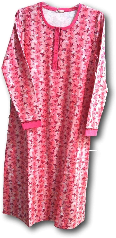 Iki Yildiz Womens Soft Design Regular & Maternity Nursing Nightgowns