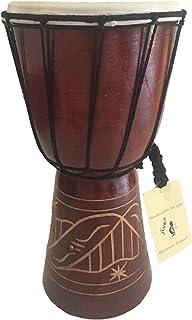 "Djembe Drum Bongo Congo طبل آفریقایی -MED SIZE 12 ""، JIVE BRAND- صدا حرفه ای"