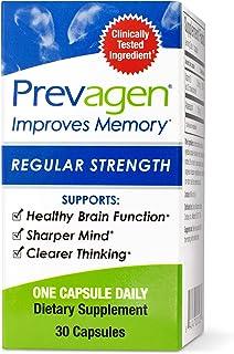 Prevagen Improves Memory - Regular Strength 10mg, 30 Capsules, with Apoaequorin & Vitamin D | Brain Supplement for Better ...