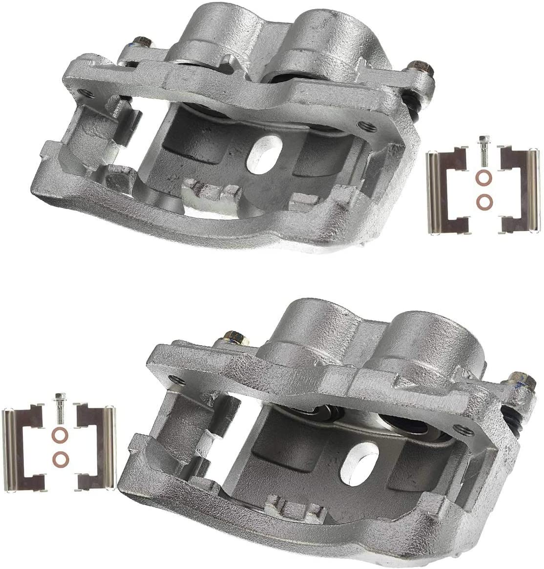 A-Premium Front Driver Minneapolis Mall and Max 52% OFF Passenger Brake Caliper Assembly Side