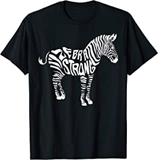 Cute Zebra Strong Ehlers Danlos Syndrome Awareness Tee Gift