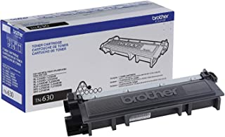 Brother Genuine Standard Yield Toner Cartridge, TN630, Replacement Black Toner, Page Yield Up To 1,200 Pages, Amazon Dash ...