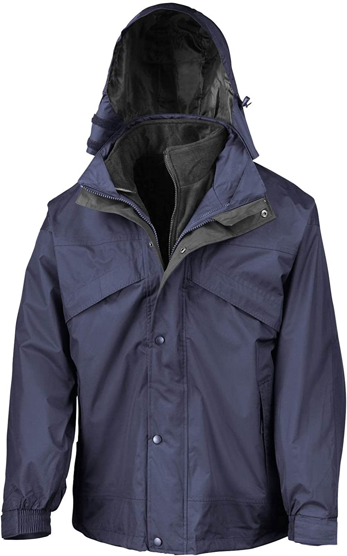 Result 3 in Max 51% OFF 1 Removable Fleece Ja Rain Waterproof Mens Windproof Sale item