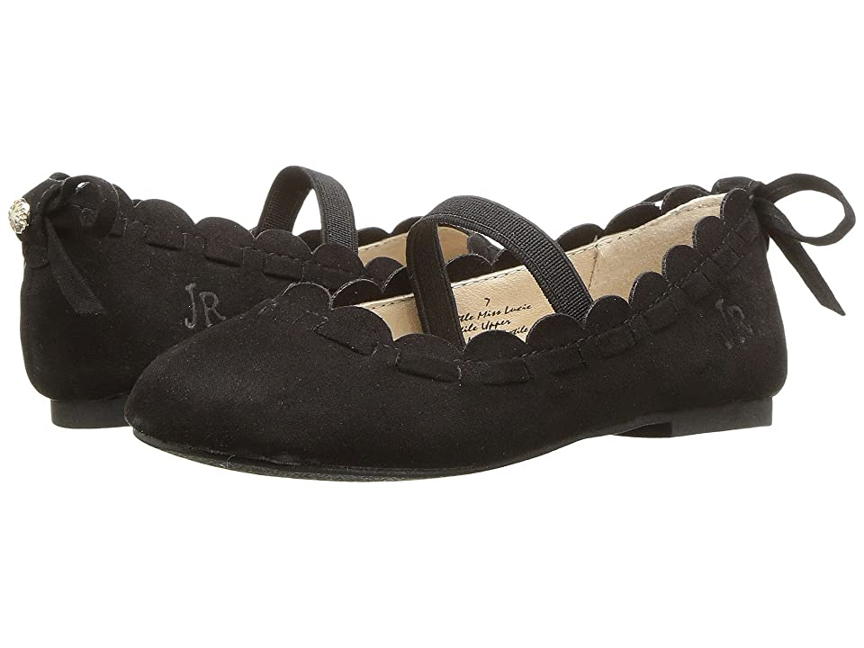 Jack Rogers Little Miss Lucie (Toddler/Little Kid) (Black) Women's Maryjane Shoes
