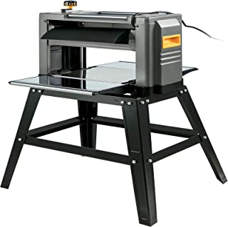 Mophorn Thickness Planer 12.5 inch Thickness Planer Woodworking 1800W Double Cutter Benchtop Thickness Planer With Stand Heavy Duty Dust Exhaust for Woodworking