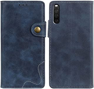 MOONCASE Case for Sony Xperia L4, Premium PU Leather Cover Wallet Pouch Flip Case Card Slots Magnetic Closure Mobile Phone...