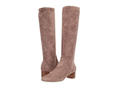 Jack Rogers Gemma Tall Heeled Boot (Taupe) Women