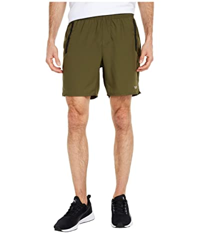 RVCA Yogger IV Shorts (Olive 1) Men