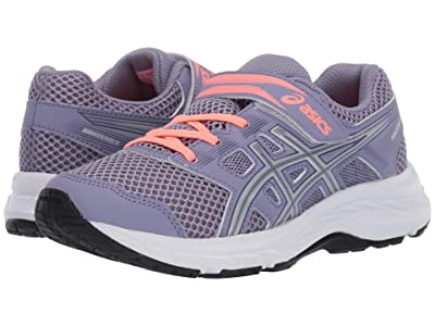 ASICS Kids Gel-Contend 5 (Toddler/Little Kid) (Ash Rock/Silver) Girls Shoes