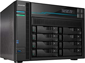 Asustor AS6508T | Lockerstor 8 | Enterprise Network Attached Storage | 2.1GHz Quad-Core, Two 10GbE Port, Two 2.5GbE Port, 8GB RAM DDR4 (8 Bay Diskless NAS)