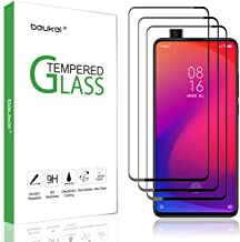 (3-Pack) Beukei for Xiaomi Mi 9T / Xiaomi Mi 9T Pro Screen Protector Tempered Glass,Glass with 9H Hardness,with Lifetime Replacement Warranty