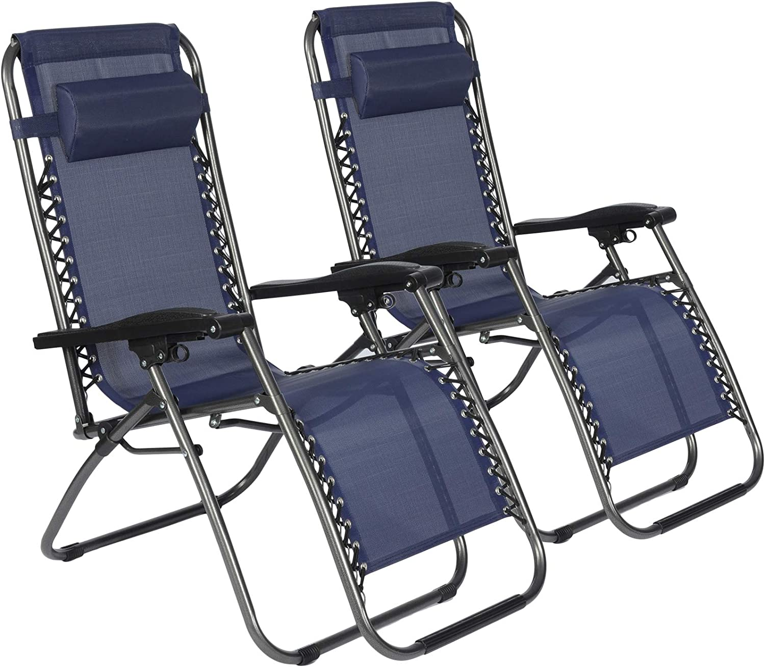 KARMAS PRODUCT Zero Gravity Chairs Set Opening large release sale Lo wholesale 2 of Outdoor Reclining