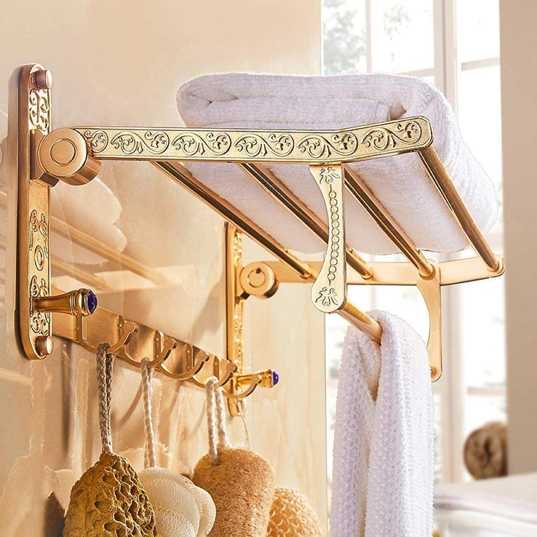 However The Door-Towels Rack-Bath The Rack Space Towels Door Aluminum Handle Set of Bathroom Dry-Towels Plateau,B