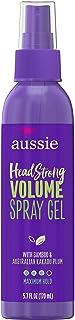 Aussie Headstrong Volume Spray Hair Gel, Maximum Hold, 5.7 oz (Pack of 2)