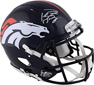 Peyton Manning Denver Broncos Autographed Riddell Speed Pro-Line Helmet - Fanatics Authentic Certified