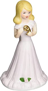 "Enesco Growing Up Girls ""Blonde Age 9"" Porcelain Figurine, 5"""