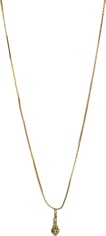 KESAR ZEMS Brass Gada Locket Arlington Mall Nippon regular agency 0.8cm Golde Pendent x 2cm