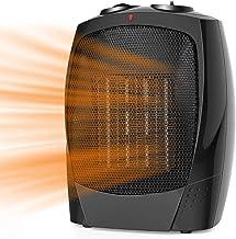 LF-YGJ Cerámica Calentador de Espacios 1800W / 900W con Control Remoto eléctrico Personal Extintor El Exceso de Calor y Of...