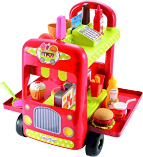 Ecoiffier Food Truck Toy - 18 - 24 Months Multi Color