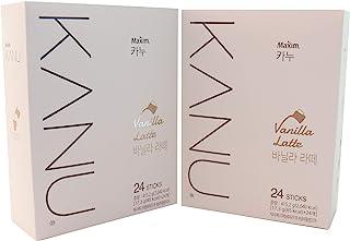 Maxim KANU Vanilla Latte 48 Sticks (Pack of 2)