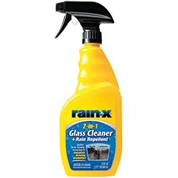 Rain-X 5071268 Glass Cleaner + Rain Repellent, 23 oz.