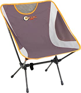 PORTAL Easy Portable Lightweight Folding Camp Chair, Grey