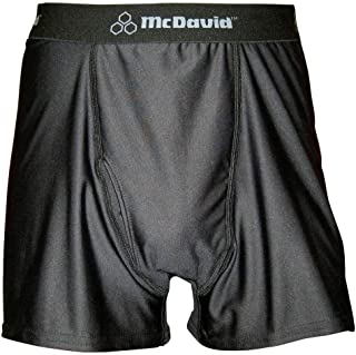 McDavid Classic Logo 9252Y CL Youth Sport Boxer Black Large