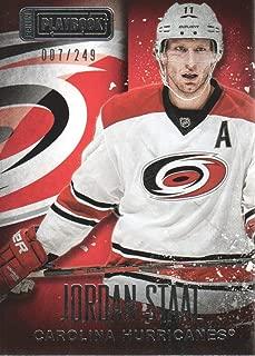 2013-14 Panini Playbook Hockey #14 Jordan Staal /249 Carolina Hurricanes