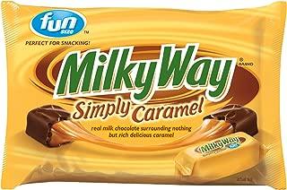 MILKY WAY Simply Caramel Milk Chocolate Fun Size Candy Bars 10.73-Ounce Bag