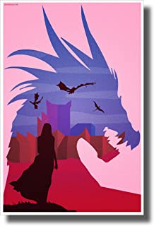 PosterEnvy Mother of Dragons - Daenerys Targaryen - New Novelty GOT TV Show Poster