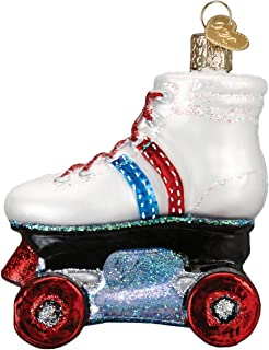 Old World Christmas Glass Blown Ornament Roller Skate (44097)