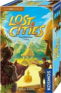 Lost Cities - Abenteuer to go: Für 2 – 4 Spieler ab 8 Jahren