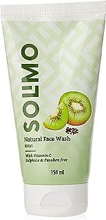 Amazon Brand - Solimo Kiwi Seed Face Wash, 150ml