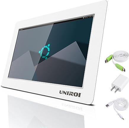 UNIROI 10.1 Inch HDMI Monitor 1024 X 600 HD LCD Screen with Ultra-Slim Shell for Raspberry Pi 3 2 Model B+ 3B 2B B+ A+ (10.1 Inch Raspberry Pi Screen)